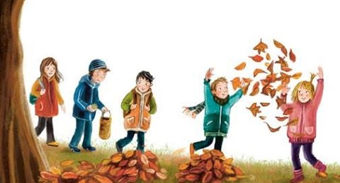 Herbst Im Holunderweg Bild