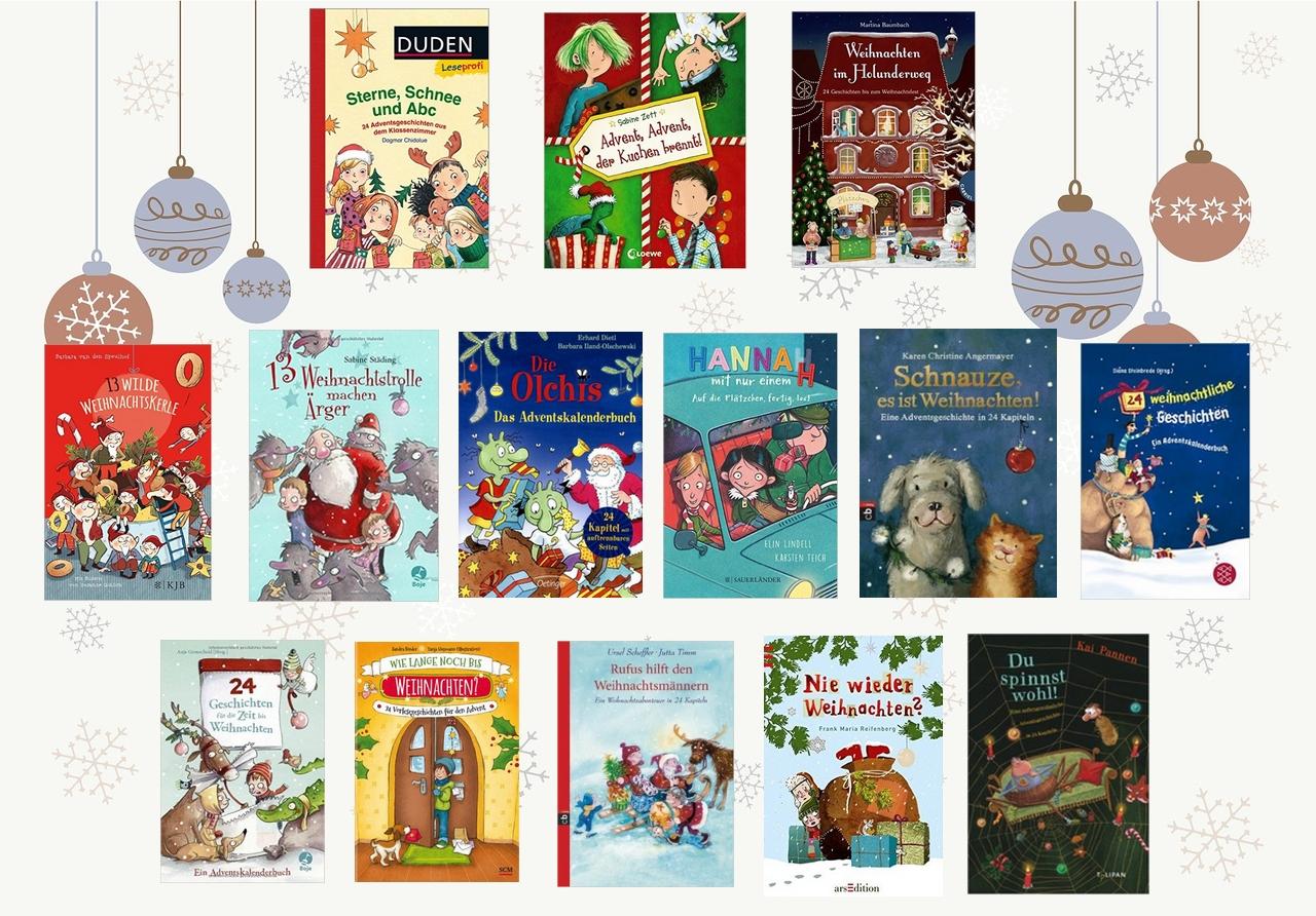 Adventskalenderbücher - In 24 Kapiteln bis Weihnachten ...