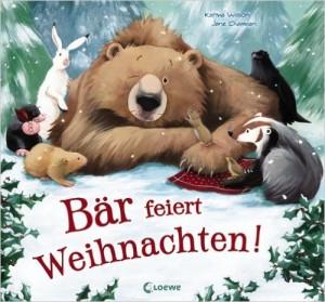 Bär feiert Weihnachten Cover