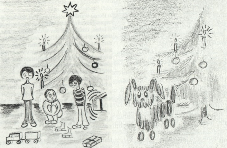 Wer hilft dem Weihnachtsmann Bild