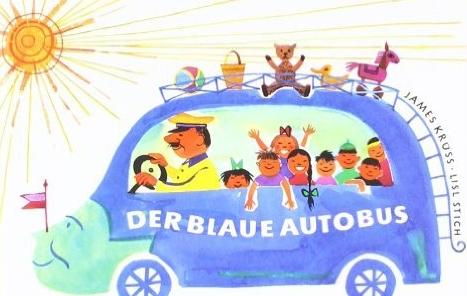 Der blaue Autobus Bild