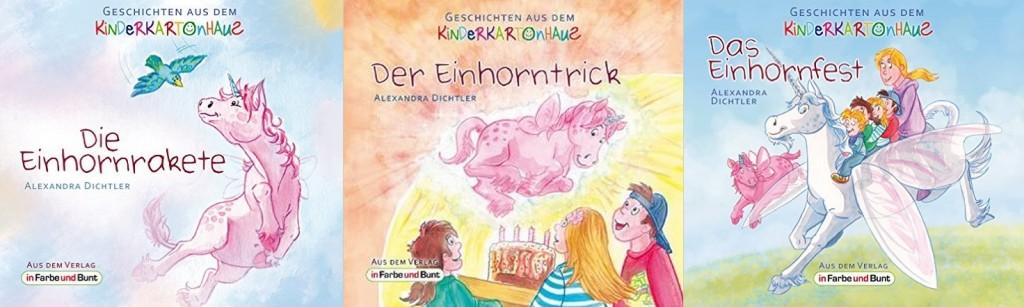 Einhorngeschichten Verlag in Farbe und Bunt