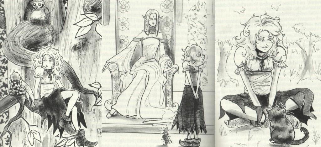 Lulea und ihre Vertrauten Illustrationen