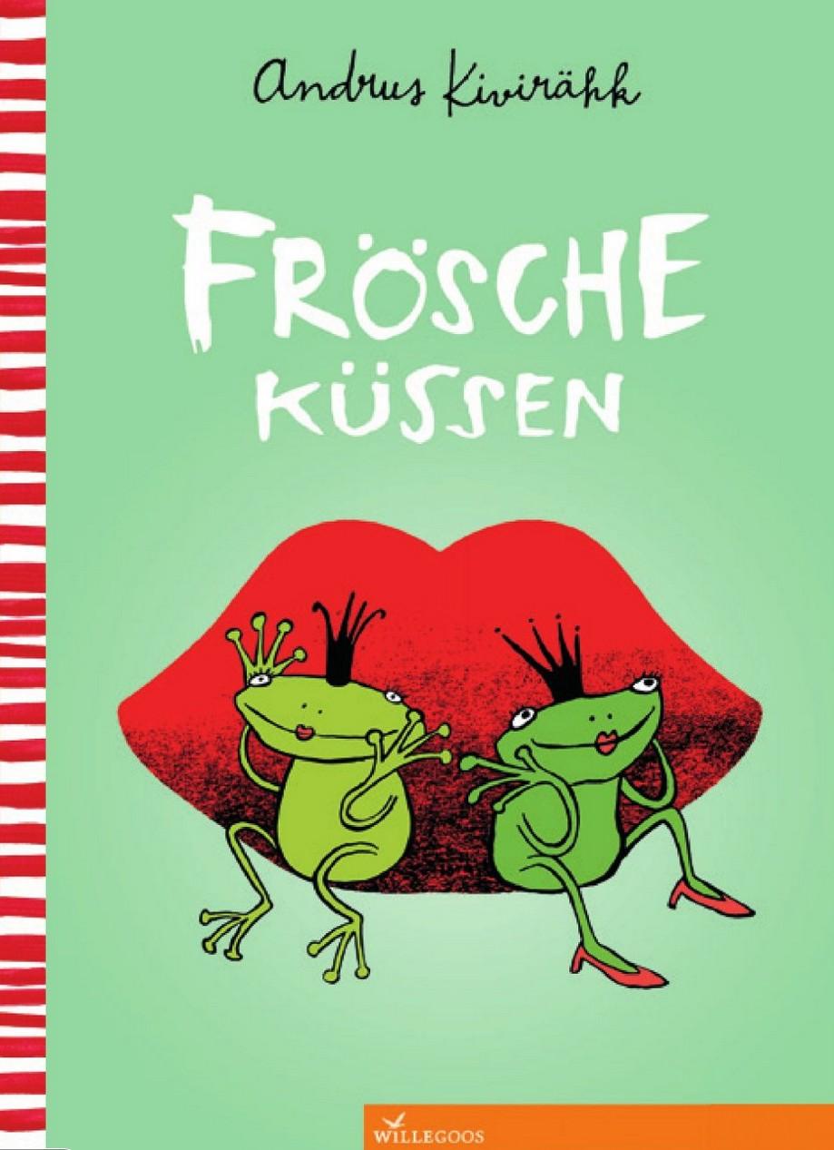 Frösche küssen Cover