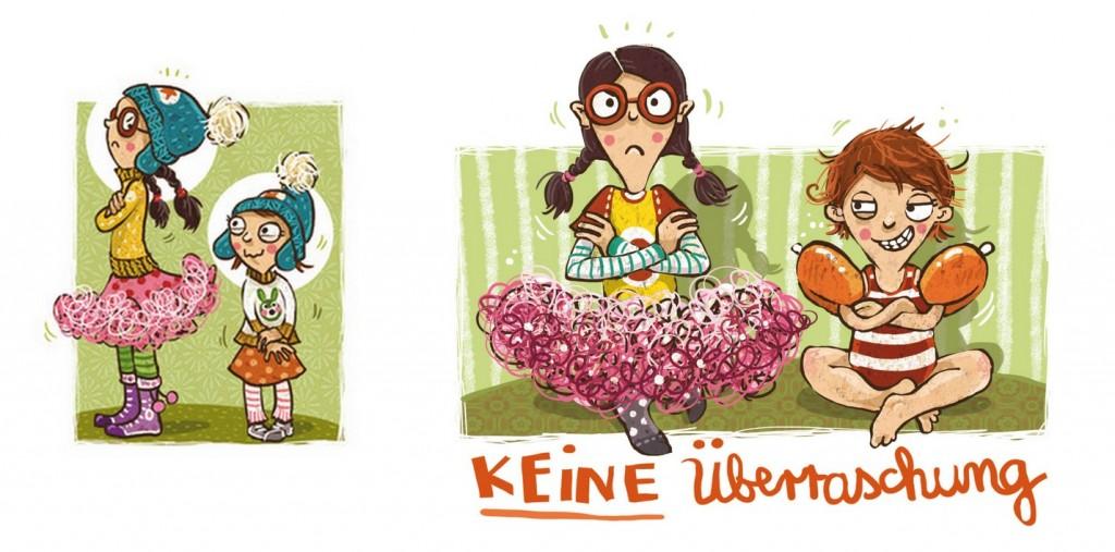 Fräulein Schmalzbrot und Billie Ballonfahrer Bild 3