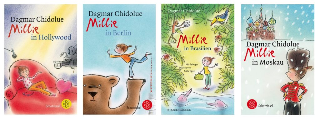 Kinderbuchreihe Millie