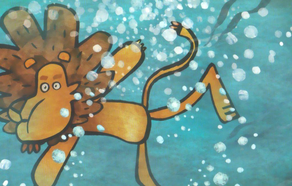 Vom Löwen, der nicht schwimmen konnte Bild 2