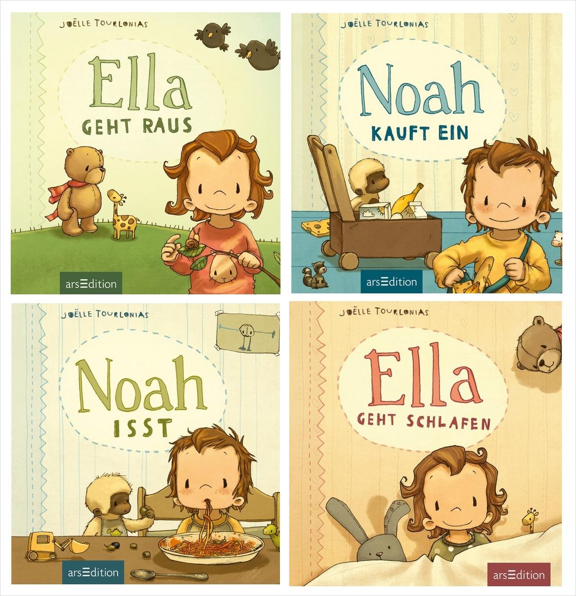 Alltagsbüchlein: Ella und Noah