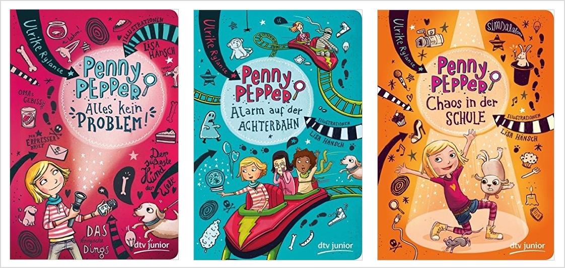 "Unser Lieblingsbuch: Die ""Penny Pepper-Reihe"""