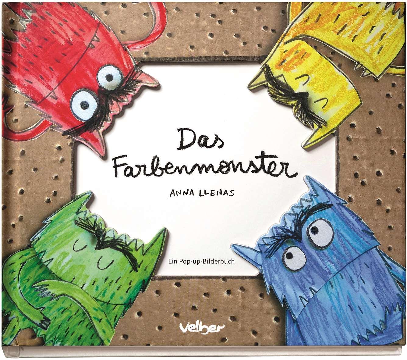 Das Farbenmonster - Kinderbuchlesen.de