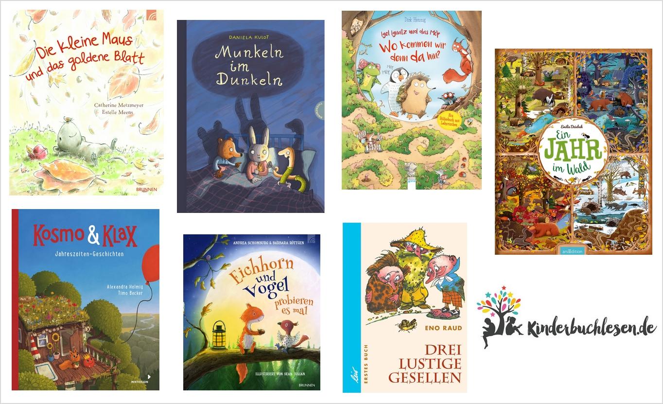Kinderbuchtipps: Kunterbunt durch den Herbst