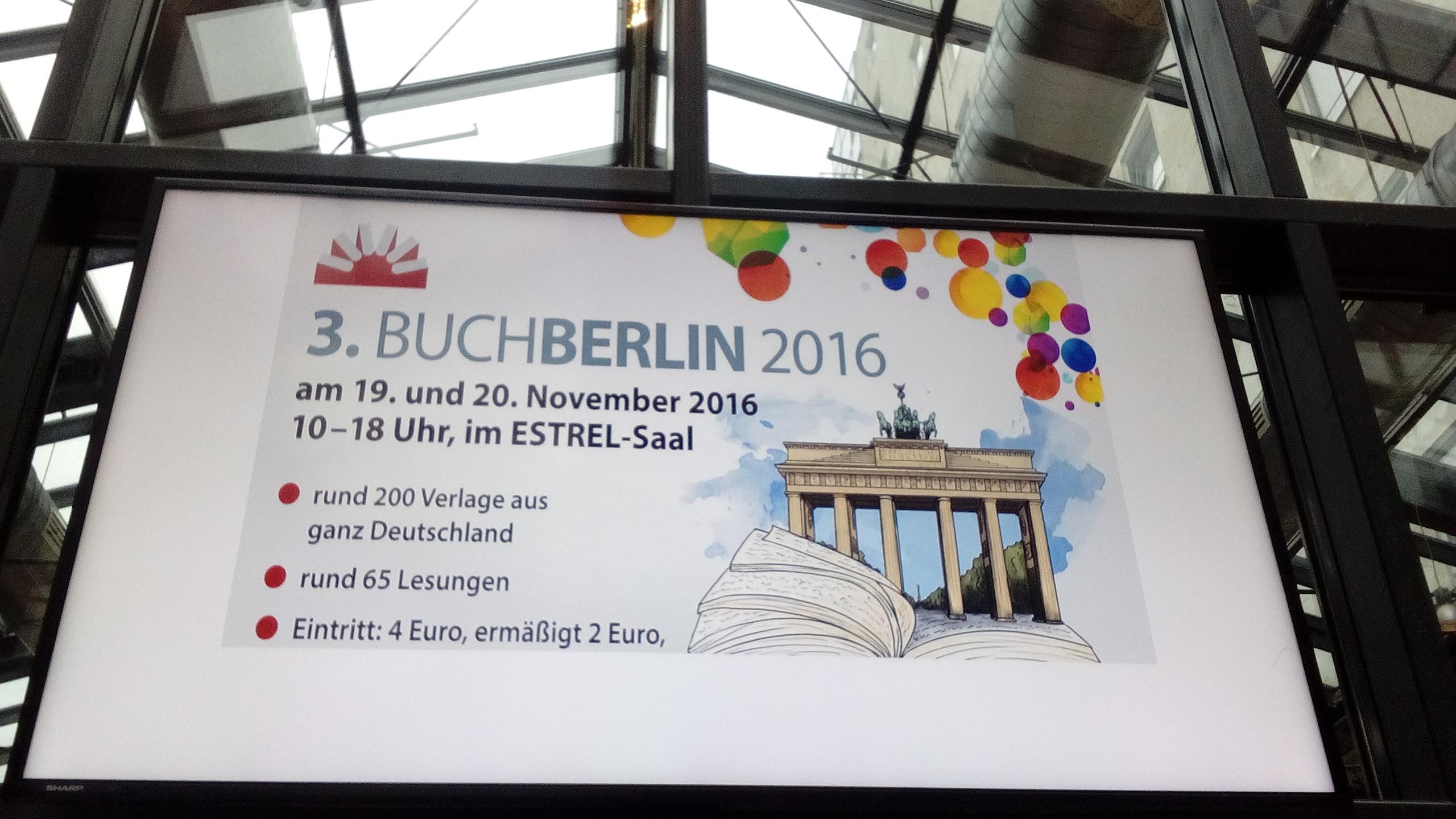 Hinter den Kulissen: BuchBerlin 2016