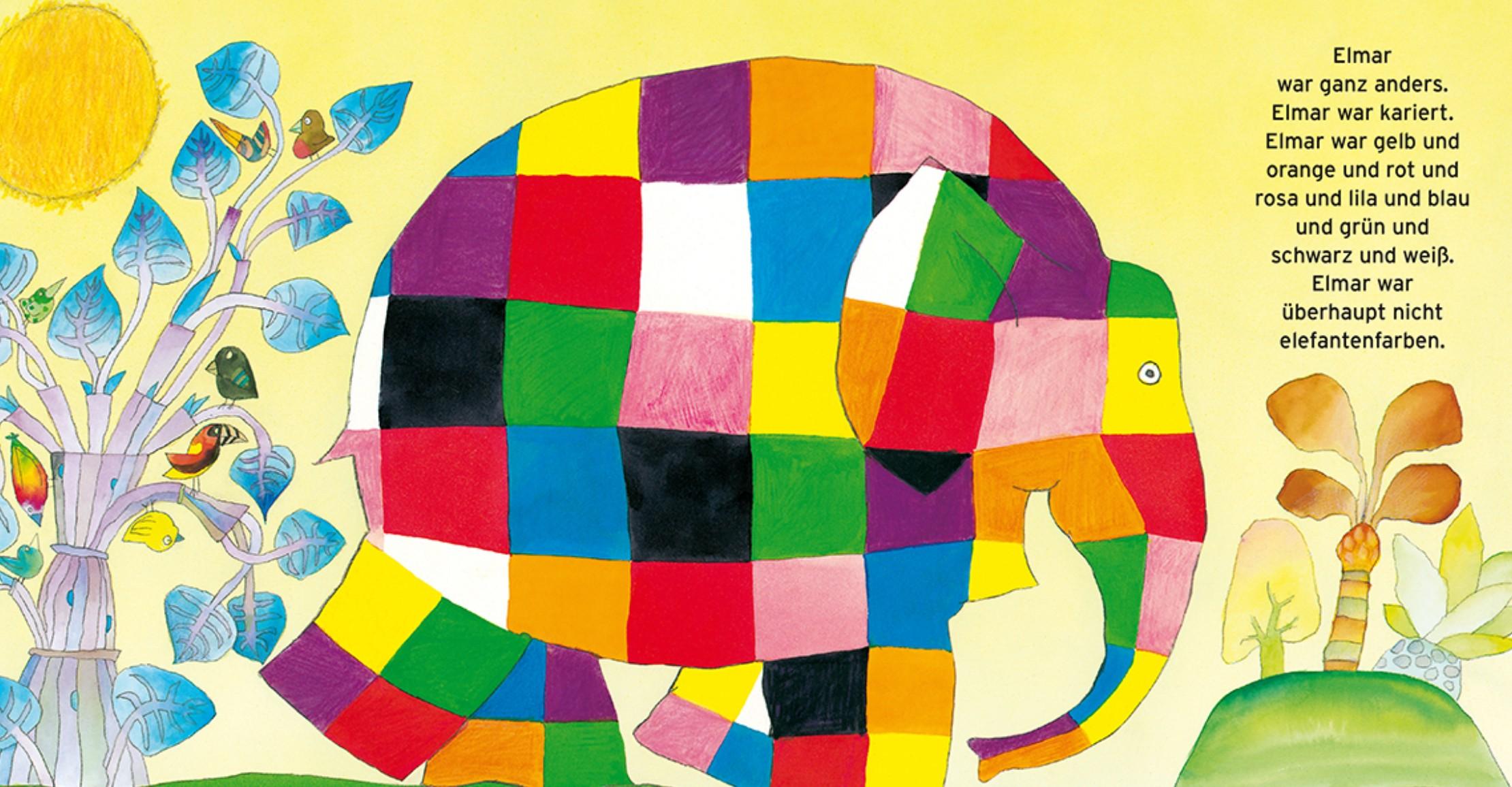 Elmar Der Bunte Elefant
