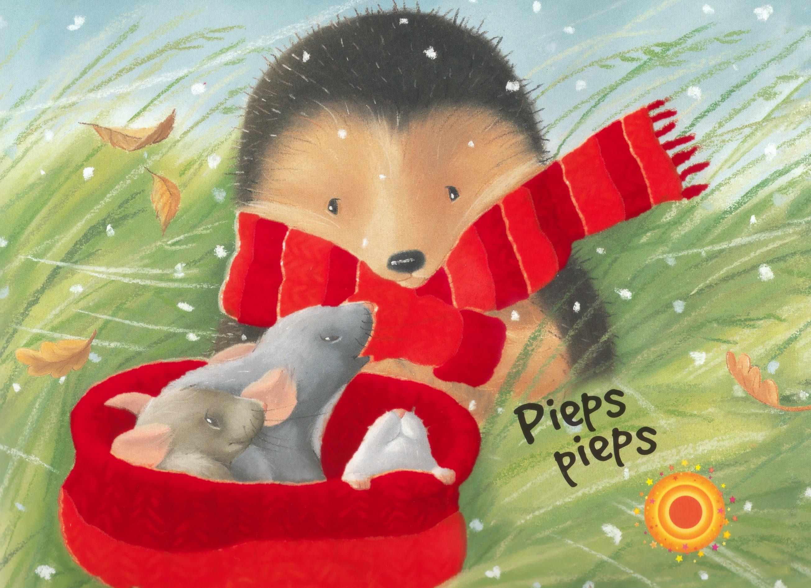 Der Kleine Igel Hilft Den Maeusen Kinderbuchlesende