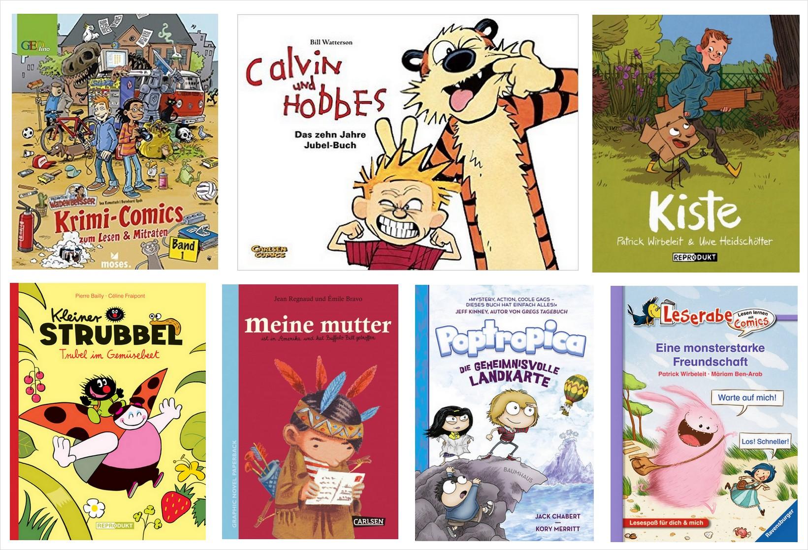 Graphic Novels für Kinder: Buch trifft Comic