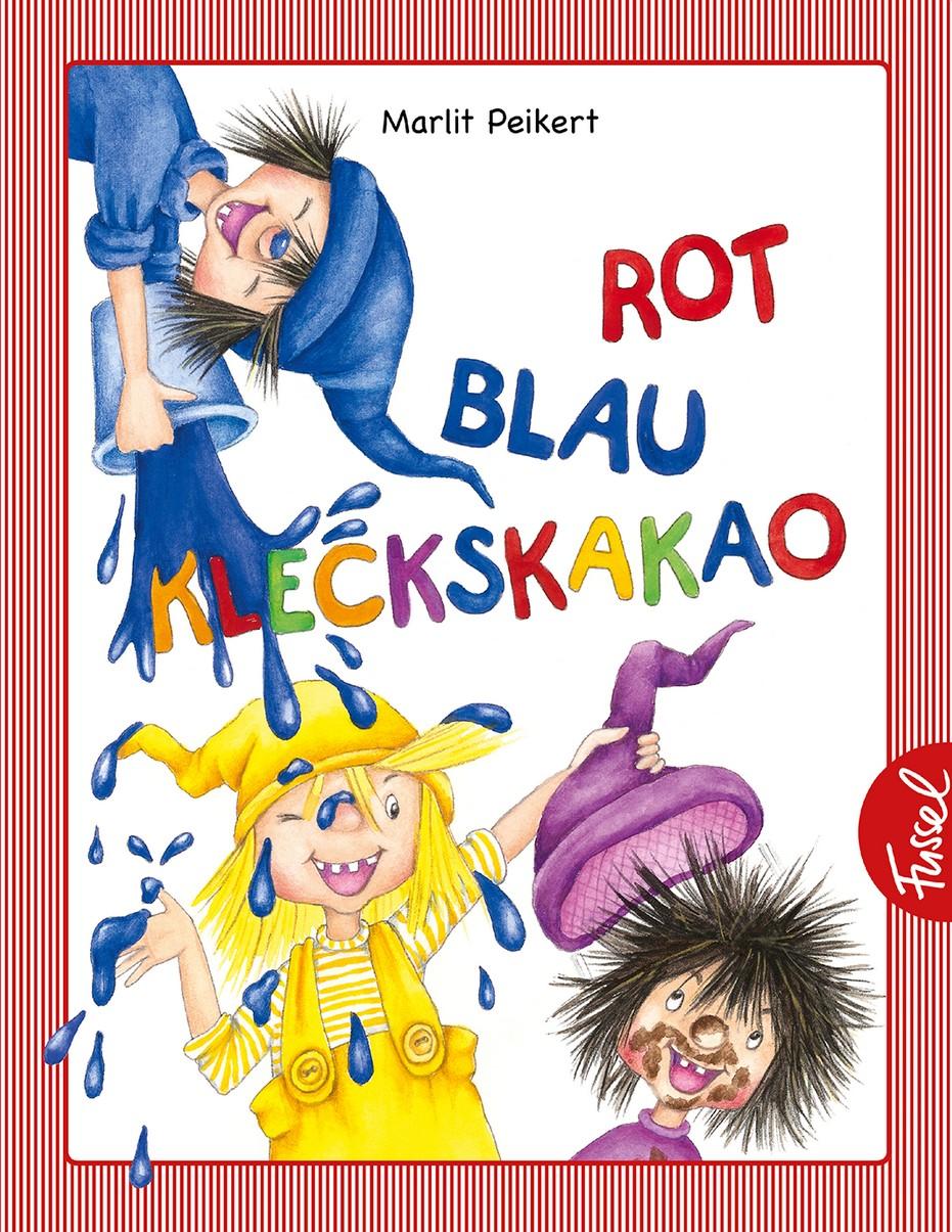 Rot Blau Kleckskakao