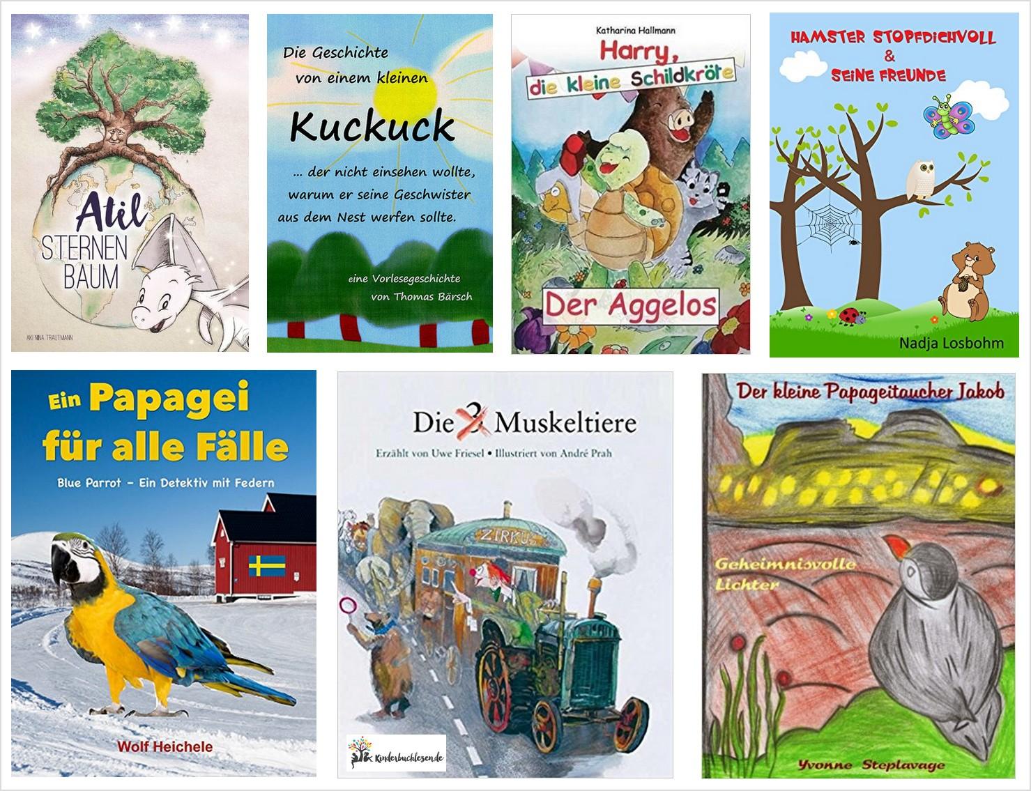 Kleine Kinderbuchperlen: Tierisch, tierisch