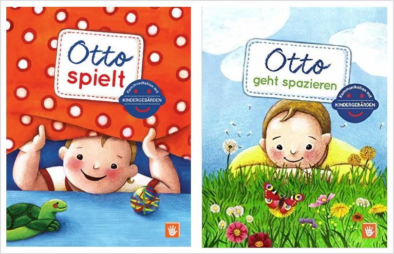 Otto – Pappbilderbücher mit Kindergebärden
