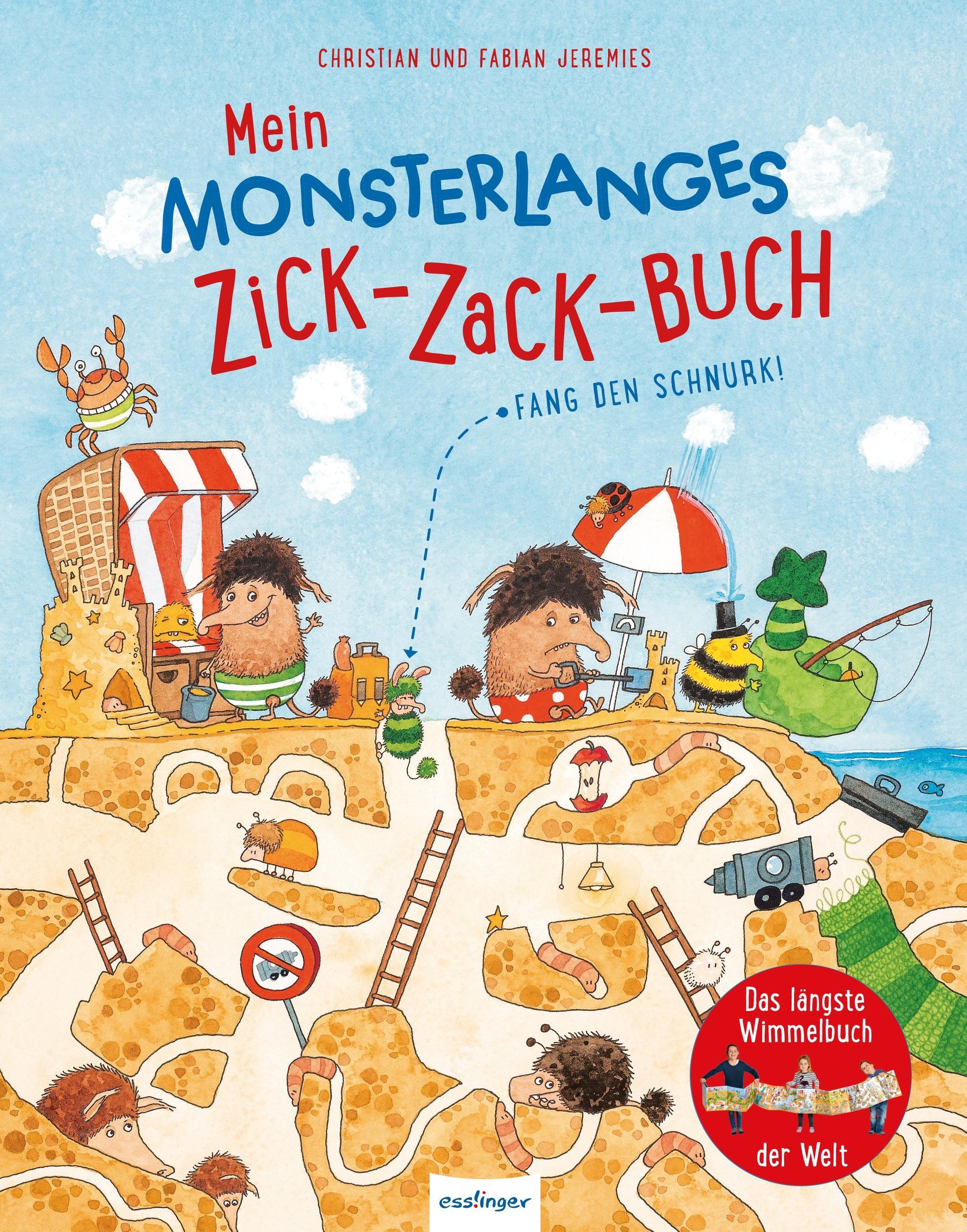 Mein monsterlanges Zick-Zack-Buch