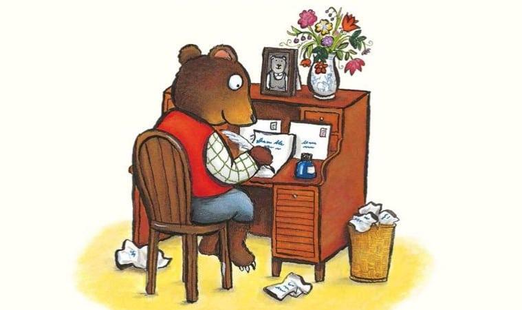 Briefe An Kleine Kinder : Der bär schreibt heute briefe kinderbuchlesen