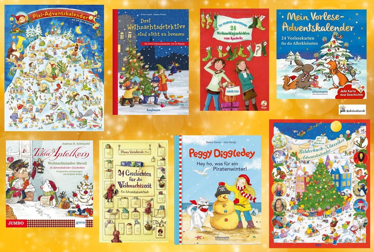 Kinder Weihnachtskalender.Adventskalender Für Kinder Gewinnspiel Kinderbuchlesen De