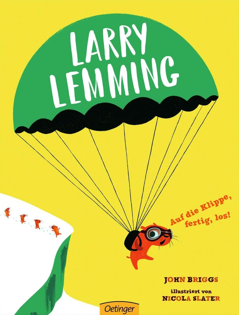 Larry Lemming – Auf die Klippe, fertig, los!