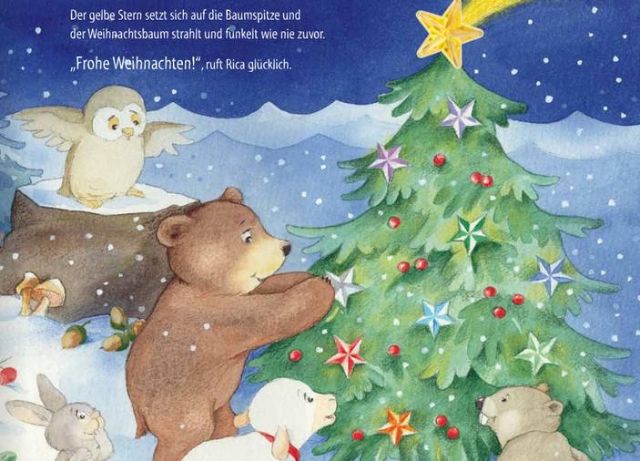 10 weihnachtsw nsche f r rica weihnachtsfest im winterwald