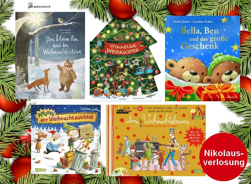 Adventsverlosung – Kinderbuchpaket zum Nikolaus