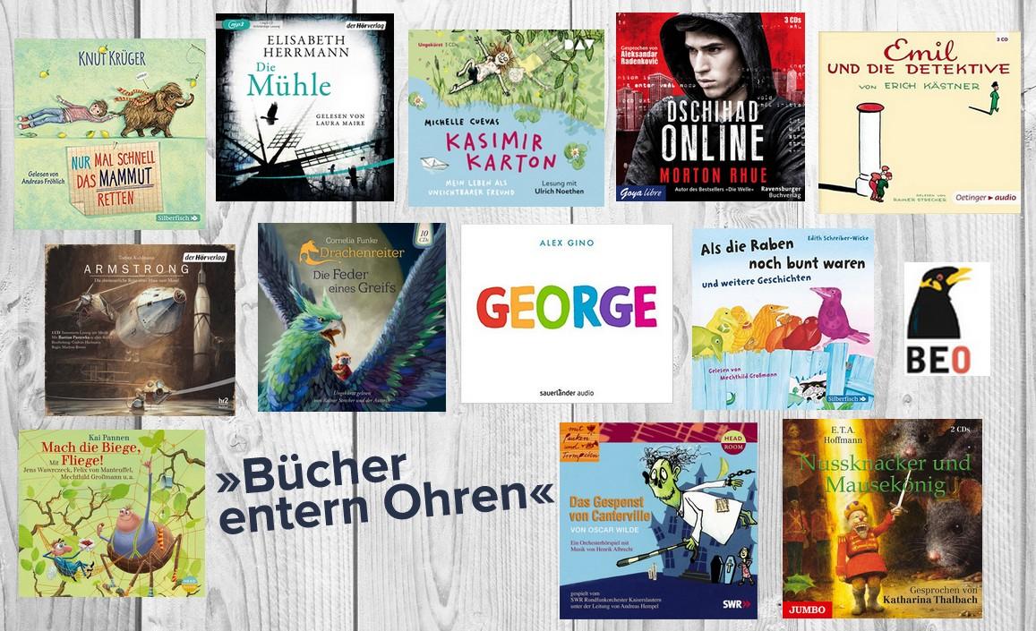 BEO 2017 – Die besten Kinderhörbücher des Jahres