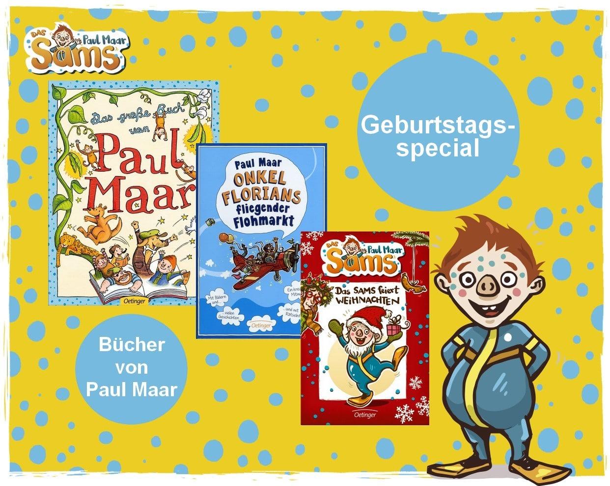 Samsiges Geburtstagsspecial – Paul Maar wird 80