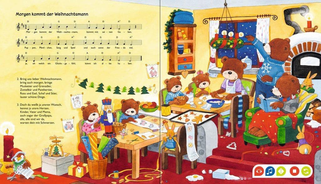 Schöne Weihnachtslieder.Tiptoi Meine Schönsten Weihnachtslieder Kinderbuchlesen De