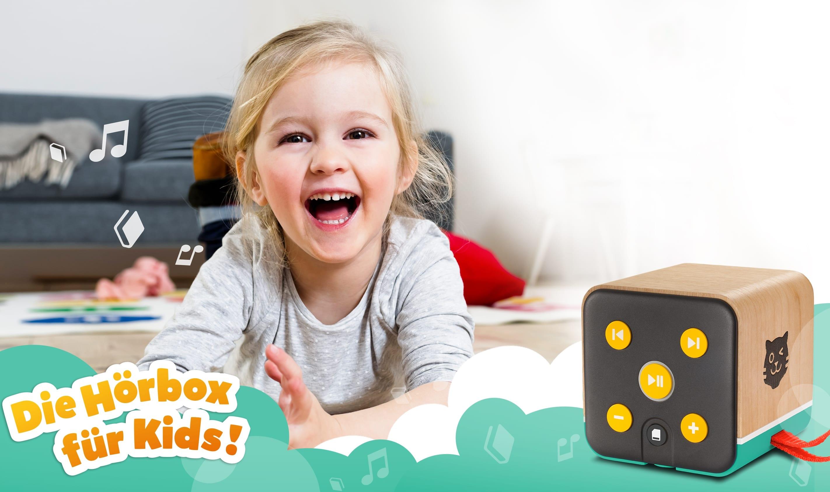 tigerbox – Die Hörbox für Kids!