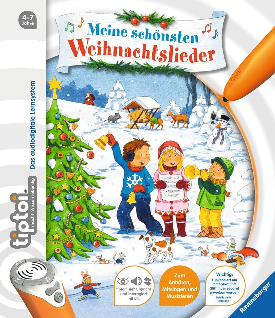 Klassische Weihnachtslieder Für Kinder.Tiptoi Meine Schönsten Weihnachtslieder Kinderbuchlesen De