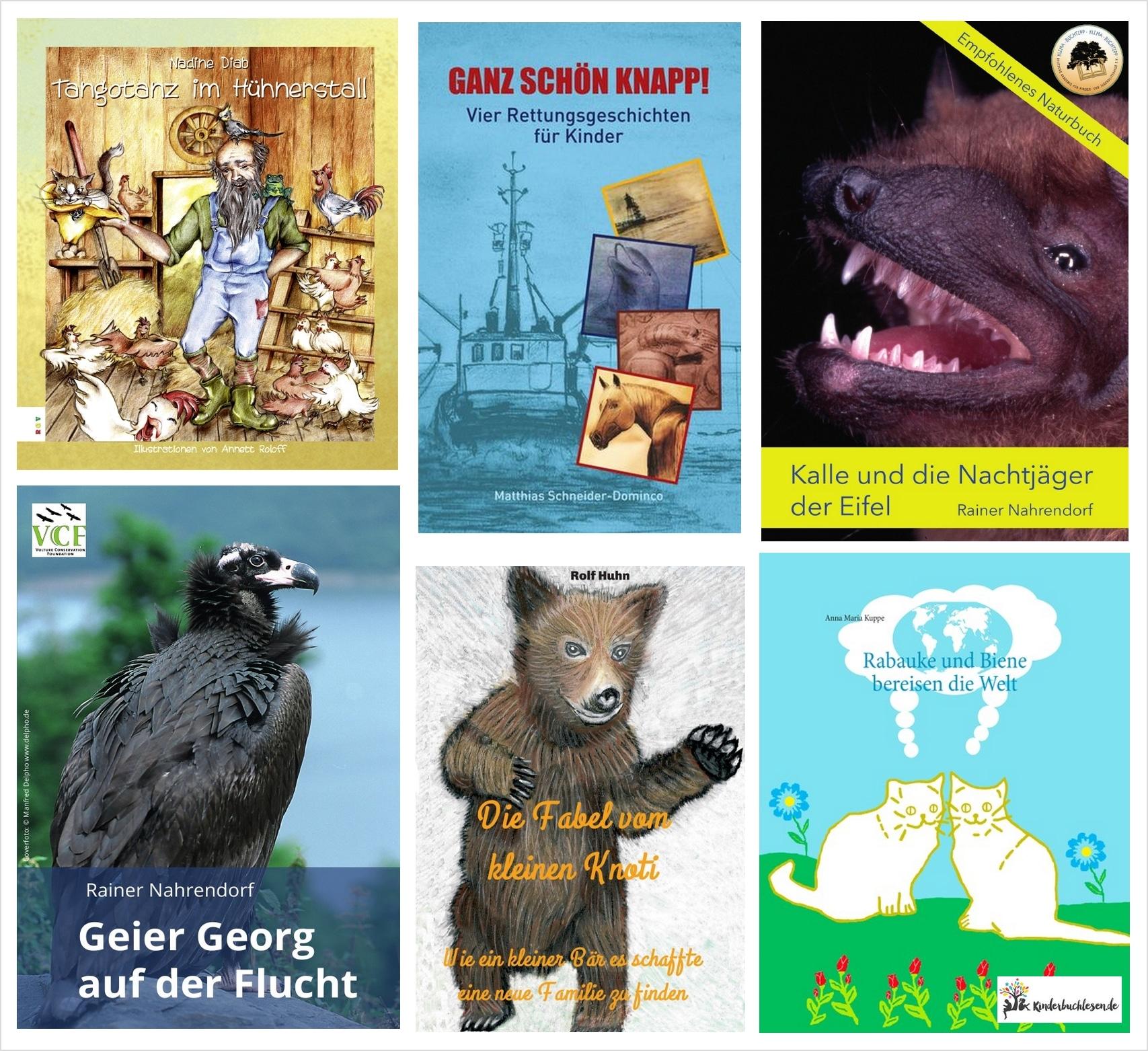 Kinderbuchperlen: Tierisch unterwegs
