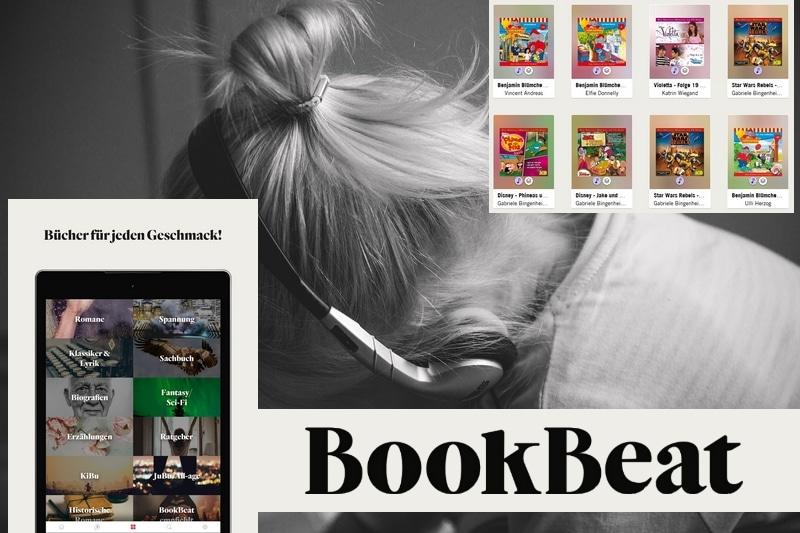BookBeat – Hörbücher für die ganze Familie