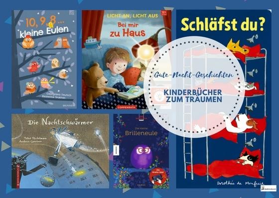 Gute-Nacht: Kinderbücher zum Träumen