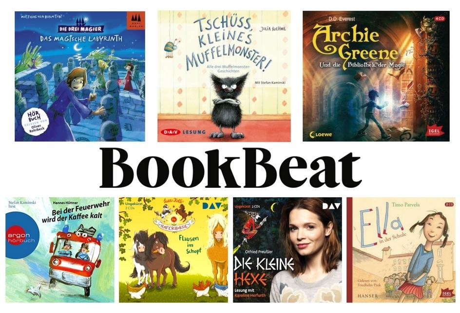 Unsere Top 7: Hörbücher für Kinder auf BookBeat