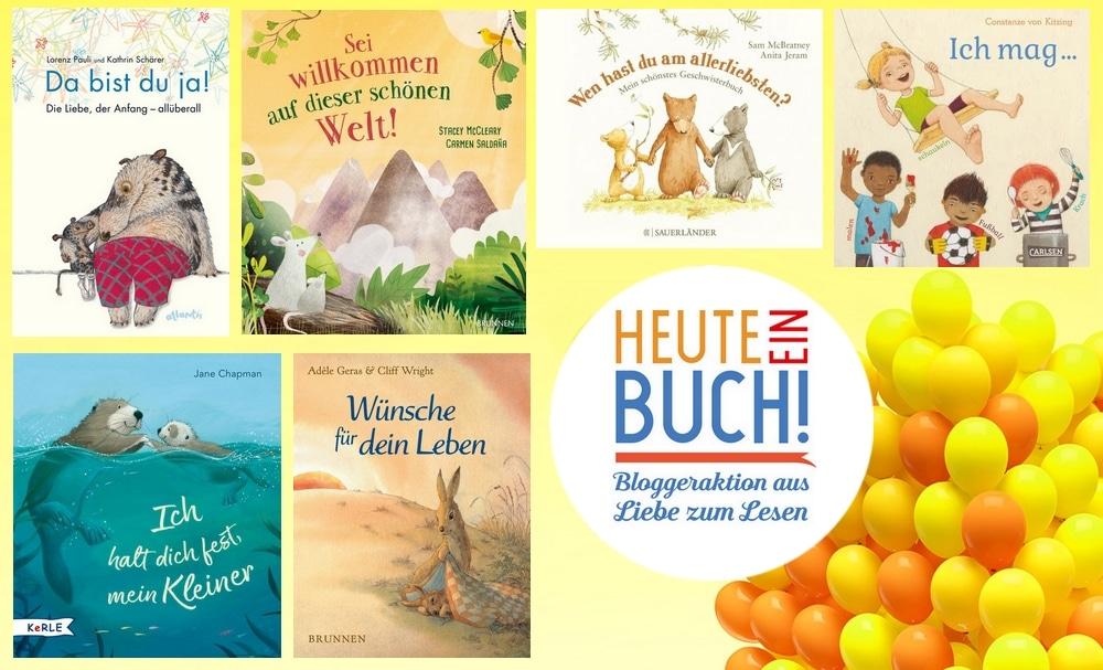 Heute ein Buch! – Bücher für, mit und rund um Kinder zum Kindertag