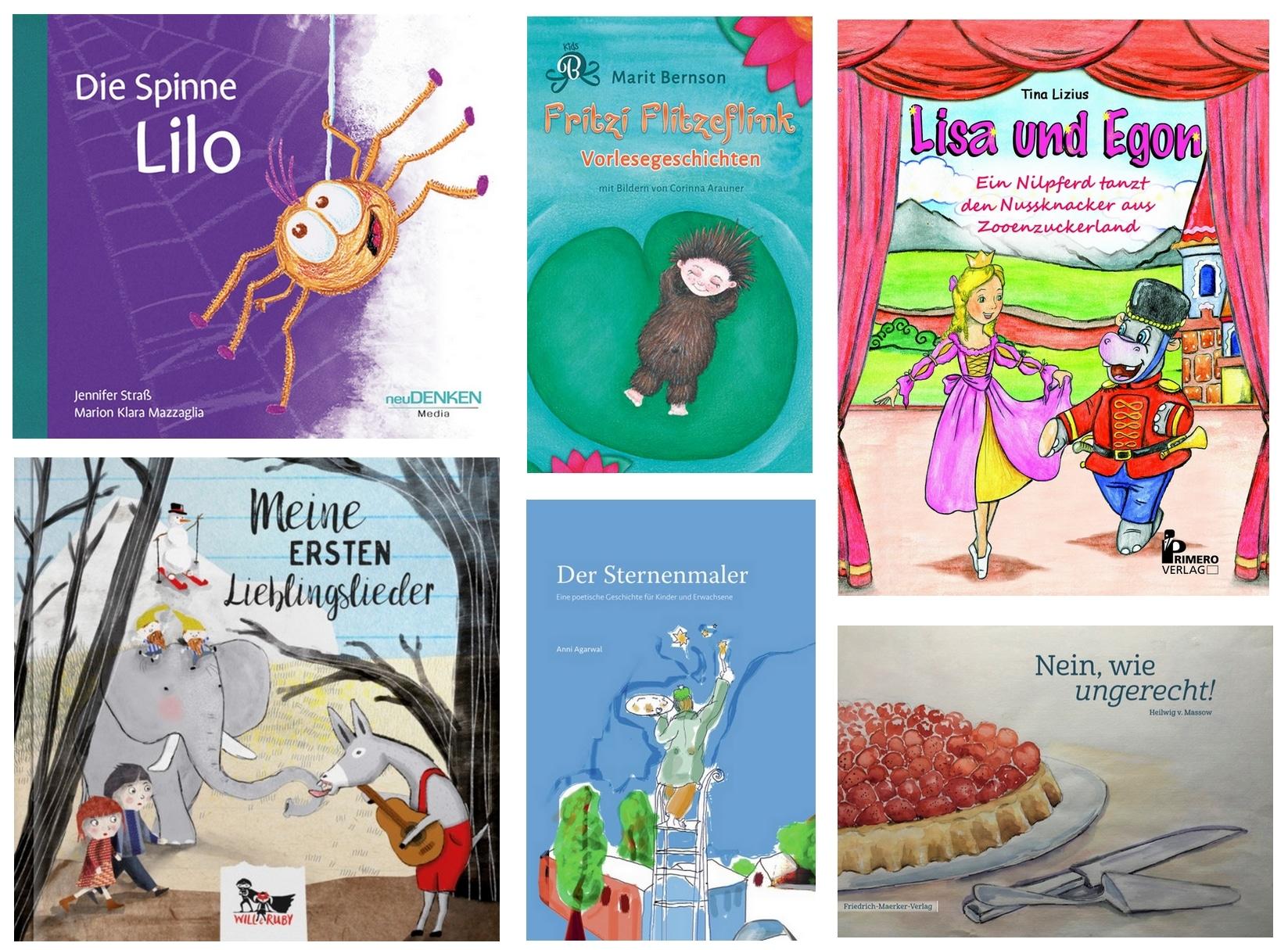 Kleine Kinderbuchperlen – Kunterbunte Vorlesegeschichten