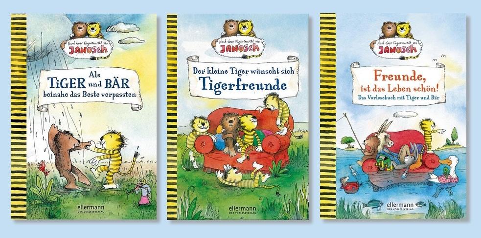 Neue Geschichten von Tiger und Bär