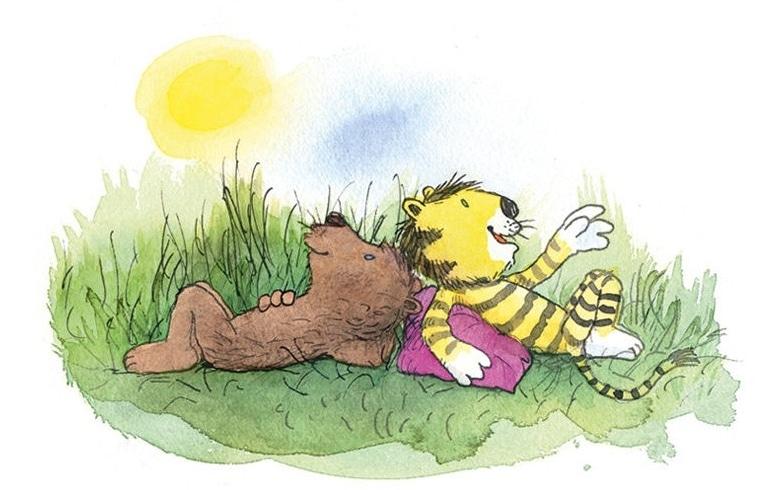 Neue Geschichten Von Tiger Und Bär Kinderbuchlesende