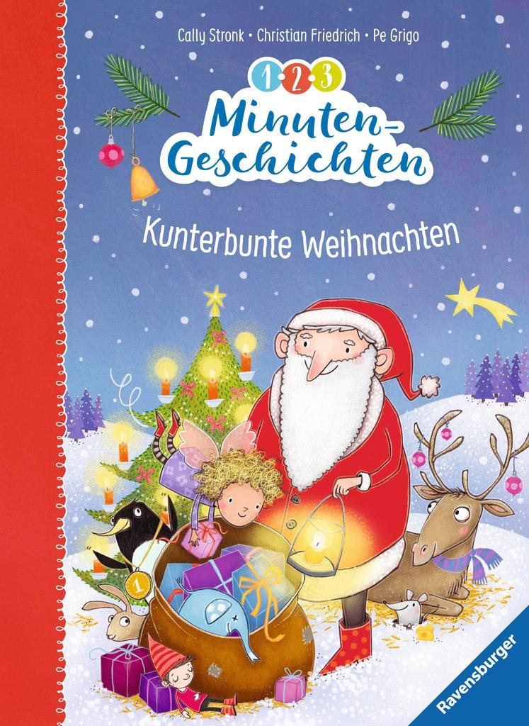 1-2-3-Minutengeschichten – Kunterbunte Weihnachten