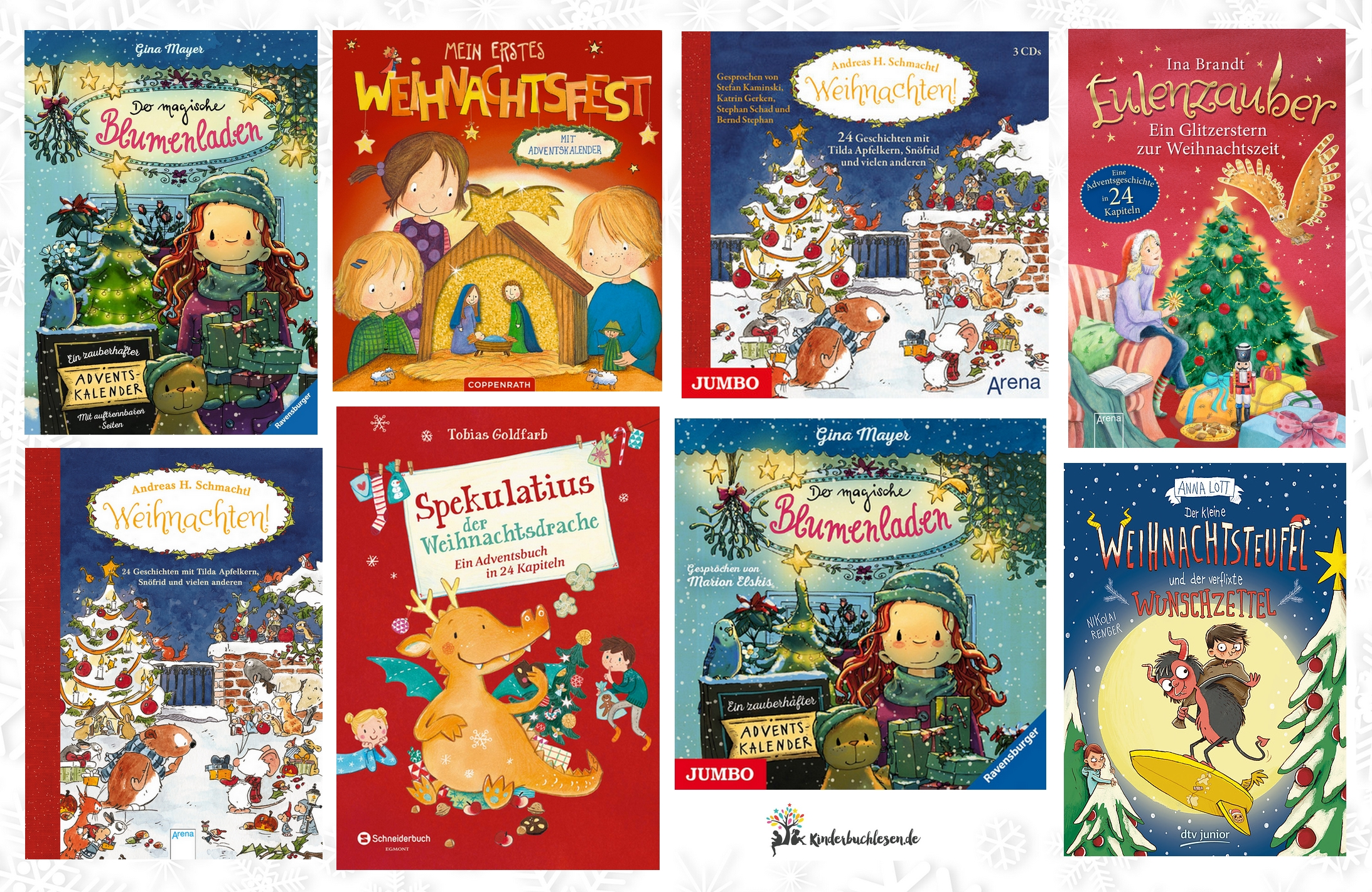 Adventskalender: Bücher und Hörbücher - Kinderbuchlesen.de