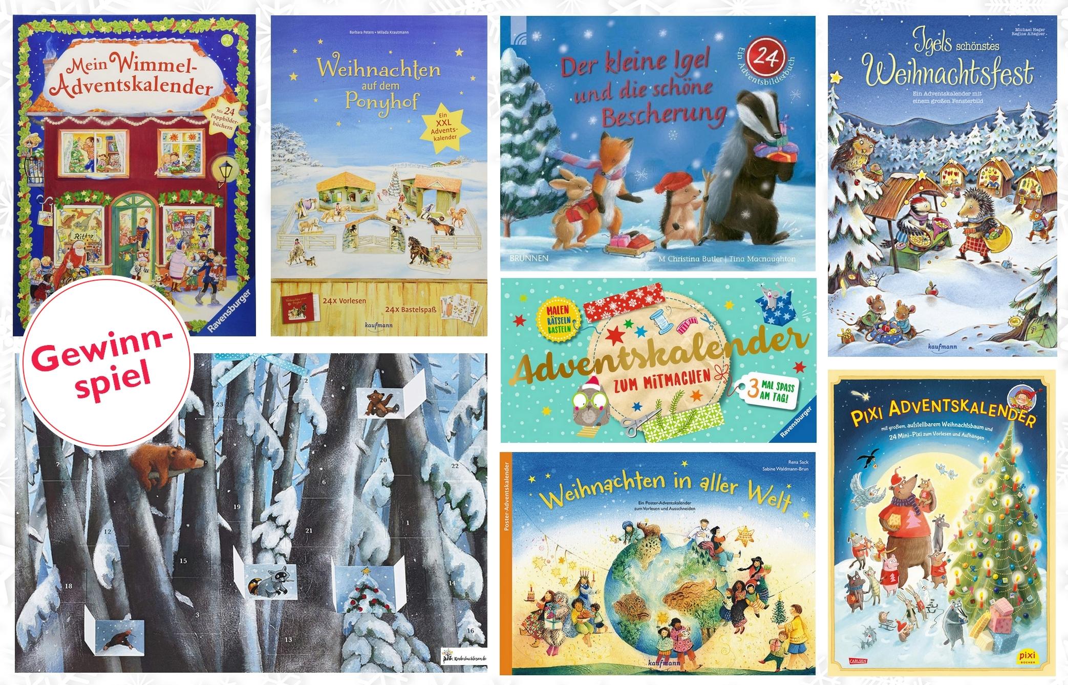 Adventskalender - Mini-Bücher und Geschichten Gewinnspiel ...