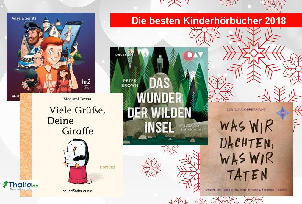 Thalia Black Week: Bis zu 20% Rabatt auf die besten Kinderhörbücher 2018