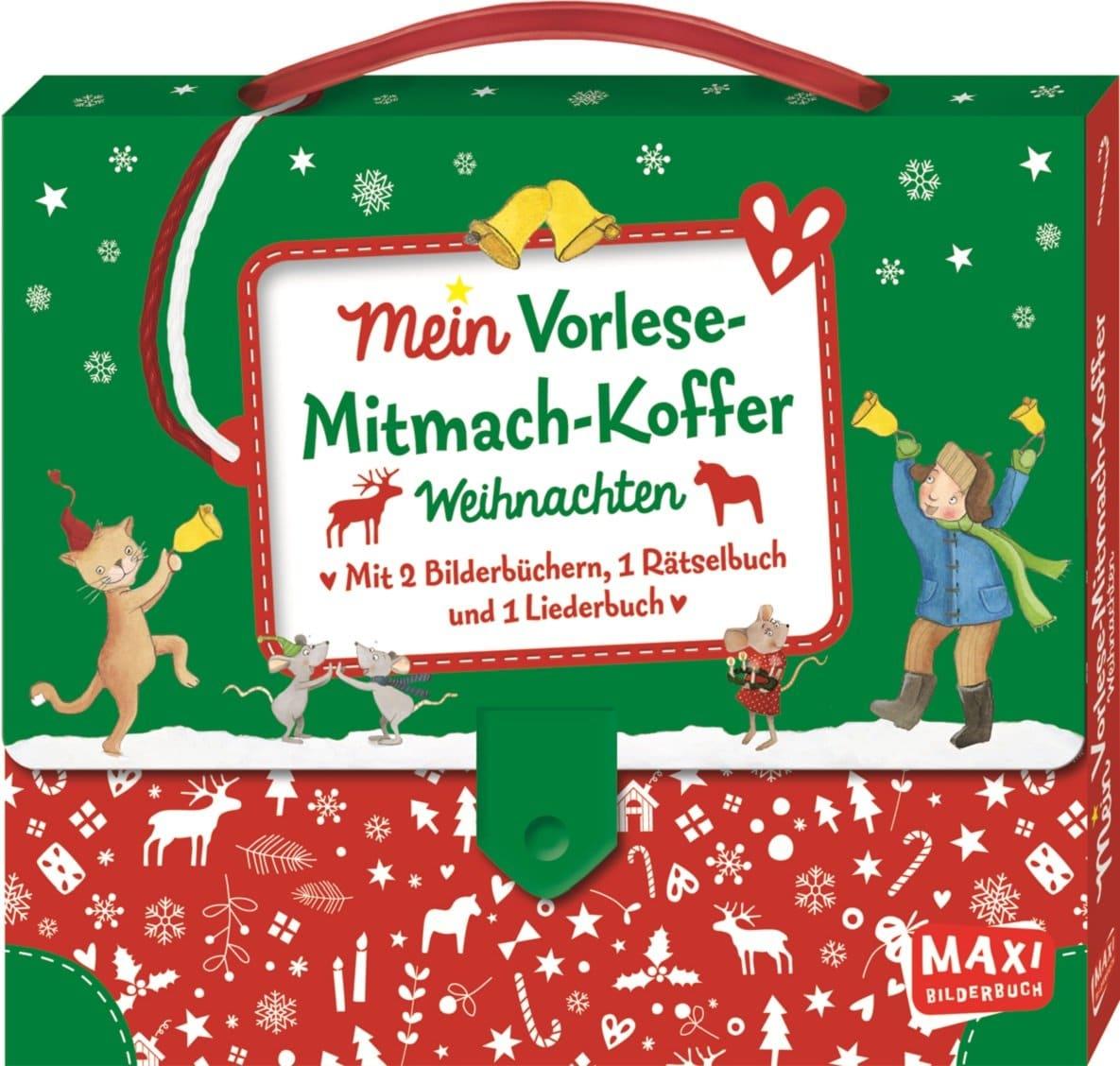 Mein Vorlese-Mitmach-Koffer: Weihnachten - Kinderbuchlesen.de