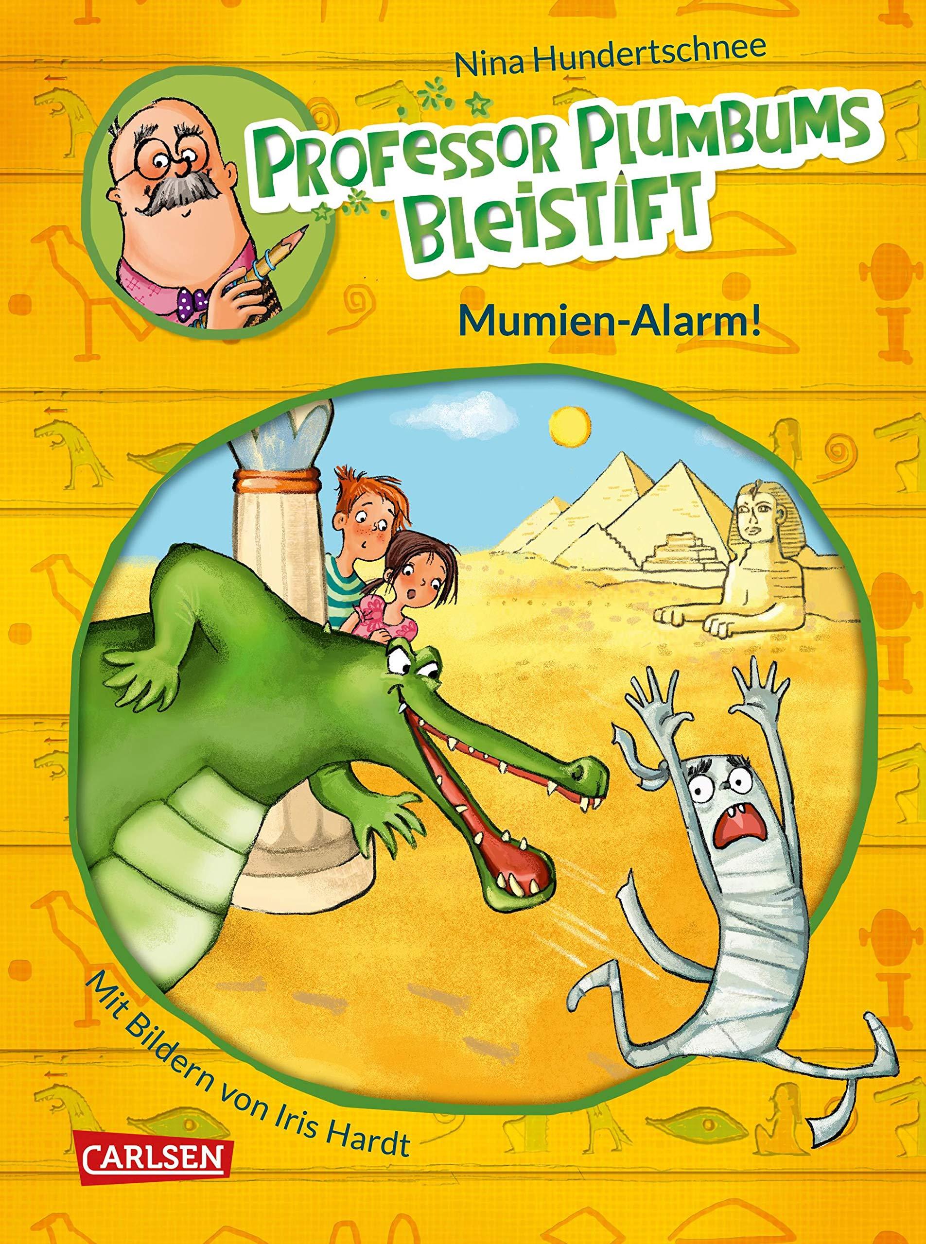 Professor Plumbums Bleistift: Mumien-Alarm!
