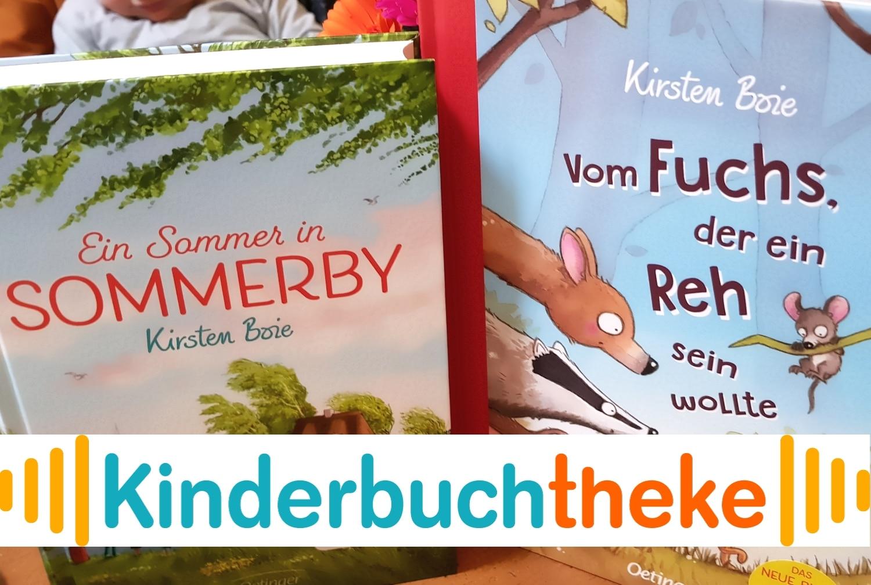 Kinderbuchtheke: Die Kinderbuchwelt von Kirsten Boie