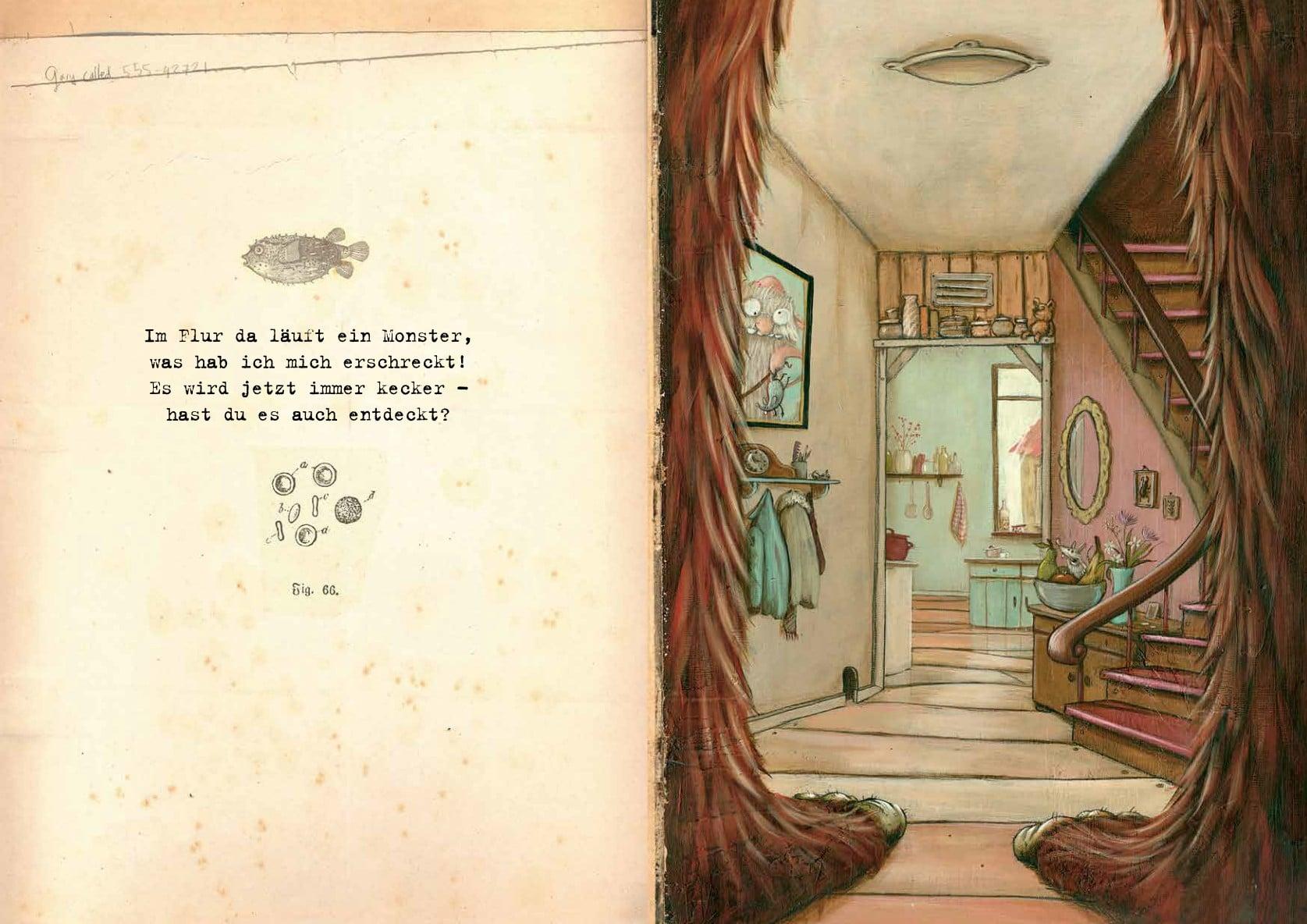 Ein Monster in meinem Haus - Kinderbuchlesen.de