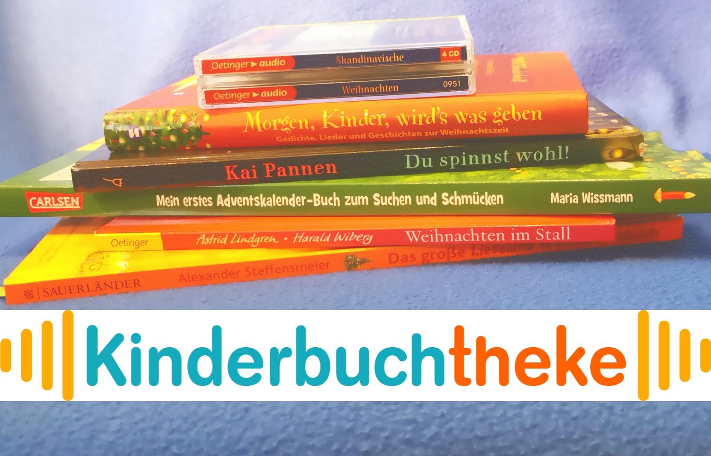 Kinderbuchtheke – Vorweihnachtszeit: Buchtipps für den Advent